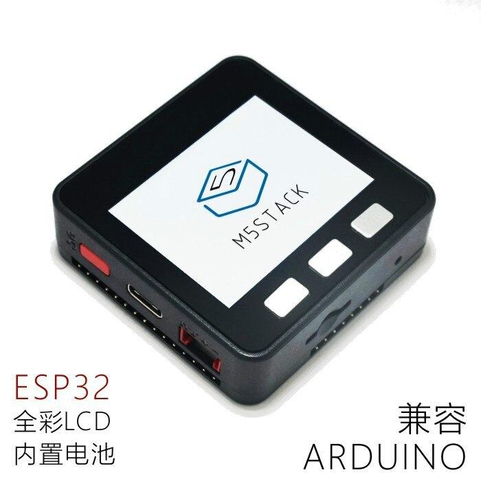 M5Stack Extensible micro contrôle module WiFi Bluetooth ESP32 développement kit Construit dans 2 pouce LCD ESP-32 LCD ESP8266 pour arduino