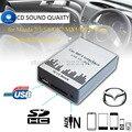 Lonleap Nueva Música Mp3 Del Coche AUX USB SD Adaptador del Cambiador de CD para Mazda 2 3 5 6 MX-5 RX-8 MPV Interfaz de Cargador de Coche de Estilo