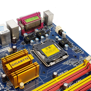 Image 4 - Gigabyte GA P43 ES3G REV 1.0 שולחן העבודה האם P43 ES3G P43 Socket LGA 775 עבור Core 2 DDR2 16G ATX מקורי בשימוש mainboard