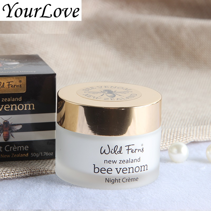 Original NewZealand Parrs Bee Venom Night Use Cream Active Manuka Honey Moisturizer Repairing Anti aging cream Remove fine lines 6 frames reversible honey extractor for bee keeping