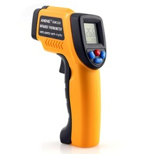 1Pcs GM320 Non-Contact Laser LCD Display IR Infrared Digital C/F Selection Surface Temperature Thermometer SA676 P50