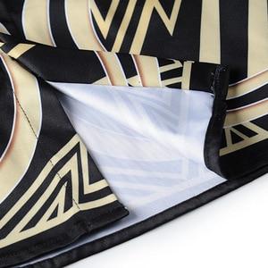 Image 4 - XIMIWUA 2019 جديد وصول 3d قمصان الرجال عارضة ضئيلة تناسب نمط بدوره إلى أسفل طوق طويل الأكمام الرجال قمصان camisa الغمد