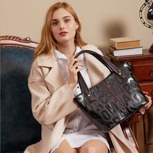купить Fashion Big Women's Handbags Luxury PU Leather Women Bags Brand Design Ladies Shoulder Bag Tote Female по цене 4751.86 рублей