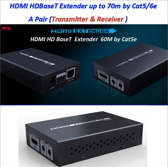 10 unids/lote 70 m/229Ft... real 4K * 2K 3D LKV375N HDBaseT código HDMI control remoto IR LAN Extender repetidor más RJ45 Cat5e/Cat6 ¡envío Gratis-in Cables HDMI from Productos electrónicos on AliExpress - 11.11_Double 11_Singles' Day 1