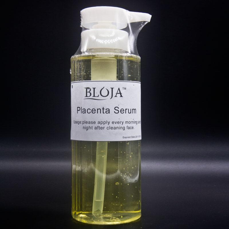 490ML Placenta Serum Essence tender withening Skin Anti Aging Ageless Firming Wrinkles rejuvenation