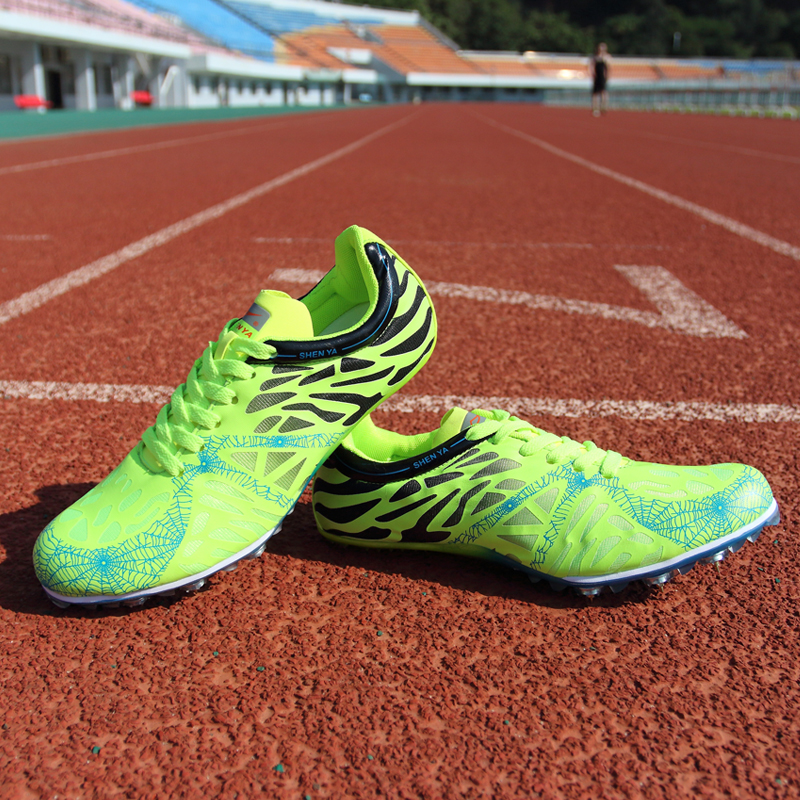 Feminino Esportivo 2018 Trail Sports Running Shoes For Spike Spikes Athletics Sprint Male Female Nails Training Sneakers