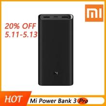 2019 Новый 20000 мАч Mi power Bank 3 Pro Edition USB USB-C двухсторонняя Быстрая зарядка поддержка 20000 мАч USB-C 45 Вт для ноутбука/телефона