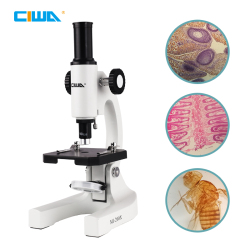CIWA 200X Professional Biological Microscope For Students Science Experiment School Educational Lab HD Monocular Microscope