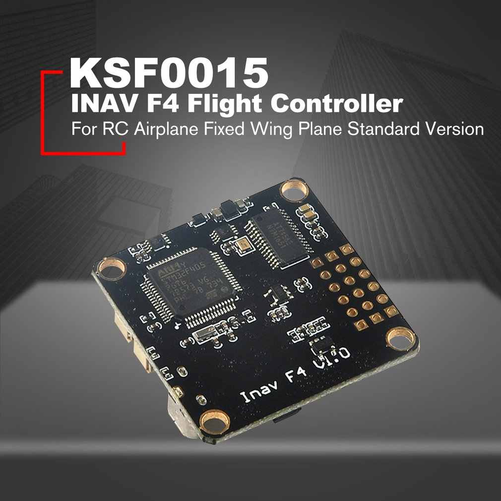 INAV F4 Flight Controller FC with OSD Buzzer 5V/3A BEC SBUS/PORT M8N GPS  for RC Airplane Fixed Wing Plane Standard Version