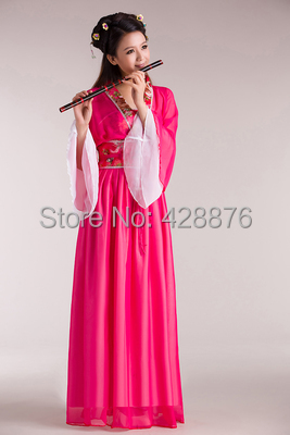 68dcace4c Free shipping New Costume fairies and clothes tang suit hanfu women's  Elegant chiffon skirt of the tang dynasty hanfu