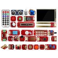 Elecrow Raspberry Pi 3 Starter Kit LED Sensor Modules 9G Servo DIY Electronic Education User With