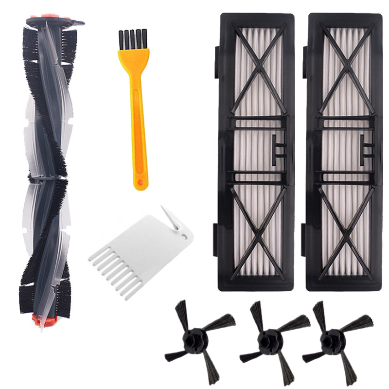Combo Brush Blade Brush and Bristle Brush Beater for Neato Botvac D3 D4 D5 D6 D7 Connected D Series Vacuum Cleaners Kit Parts|Vacuum Cleaner Parts| |  - title=
