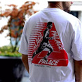 European and American Fashion Runner PALACE T-SHIRT Skateboards cdg play Short-Sleeved COTTON Comfortable lovers clothing