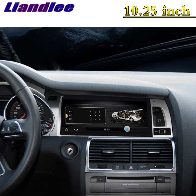 For Audi Q7 4L V12 2005~2015 Liandlee Car Multimedia Player NAVI Car System  Radio Stereo CarPlay Adapter GPS Screen Navigation