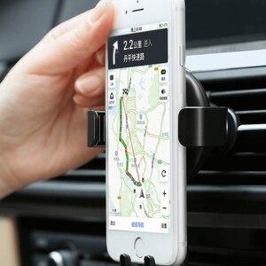 Image 2 - Автомобильный держатель держатель Youpin CARFOOK с датчиком гравитации, с G сенсором, многофункциональным держателем для телефона с одной рукой