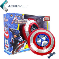New SuperHero Alliance The Avenger Captain America Shield Helmet Action Figure Cosplay For Kids Toys Collection