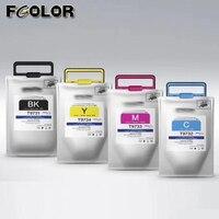 T9731 T9732 T9733 T9734 compatibel pigment inkt tas voor Epson Workforce Pro WF-C869 C869R Serie