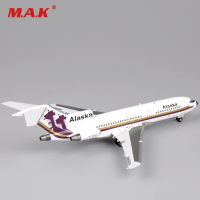 Collectible Airplane Model Toys 1:200 Inflight200 Airplane Model Alaska N766AS Boeing 727 100 IF7210814 for Boys Kid Children