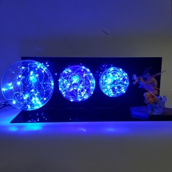 Dragon Ball Z Goku Led Nacht Lichter Schreibtisch Lampe Dragon Ball Super Sohn Goku Lampe Dragon Ball Lampara Led