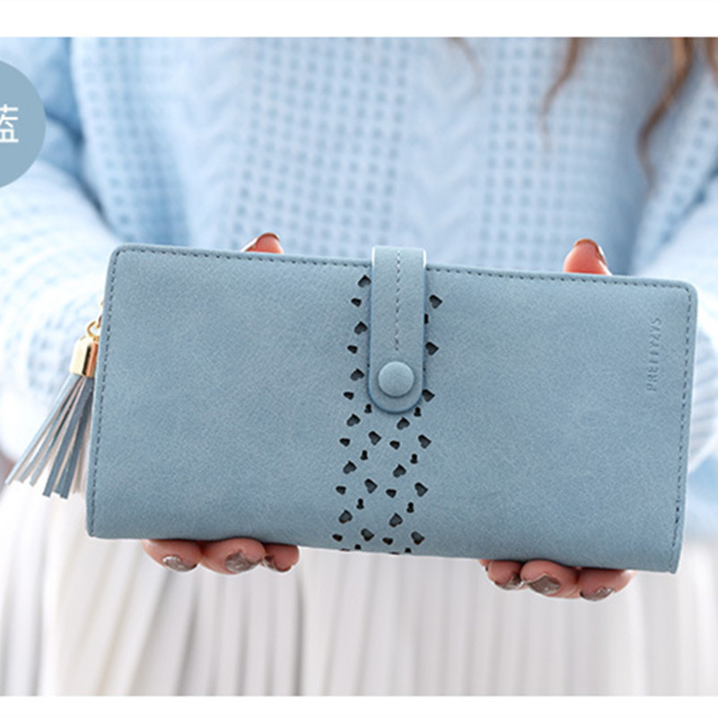 New Wallets Brand Coin Purse PU Leather Women Wallet Purse Wallet Female Card Holder Long Lady Clutch purse Carteira Feminina 2016 hot fashion women wallets double zipper bag solid pu leather men long coin purse brand clutch lady cash hold phone card