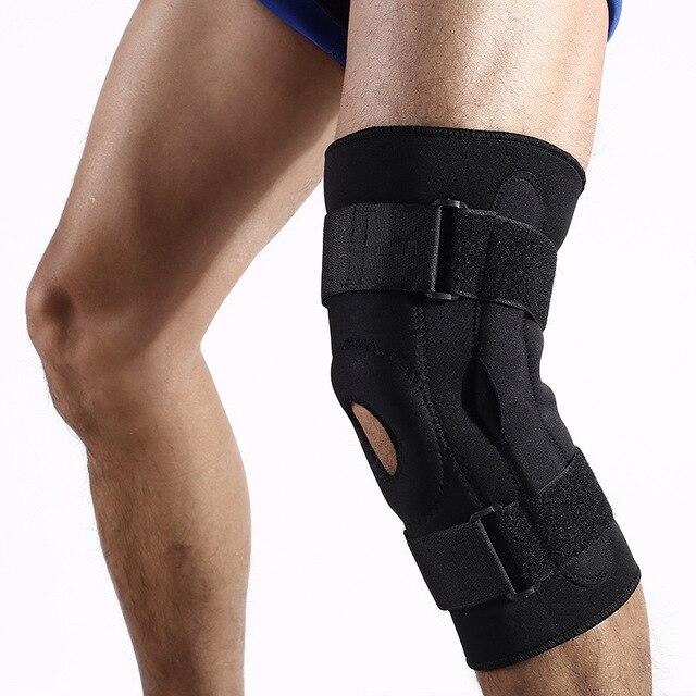 bd6b2b45e4 1 Pcs Knee Care Brace Support Kneepad Adjustable Sports Knee Brace  Protector Knee Pads Health Care
