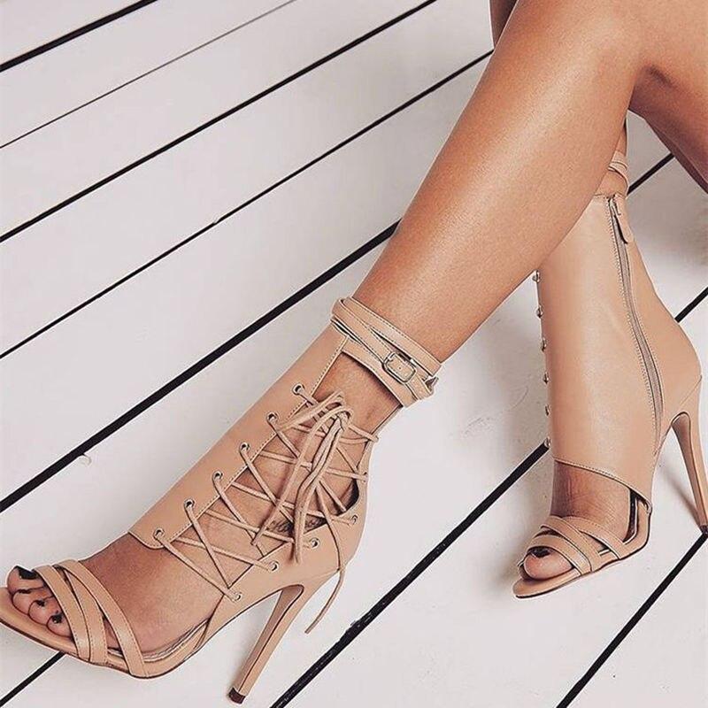 Women's Pumps Sexy High Heels Ladies Shoes Open Toe Party wedding Shoes Woman Thin Heels Summer Sandals 8820W Multan