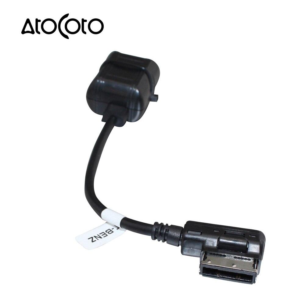 imágenes para Módulo Inalámbrico Bluetooth del coche para el Benz Radio Stereo Aux Cable Adaptador de Toma de MMI Interfaz de Entrada de Audio