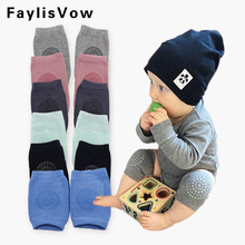 Baby Anti Slip Knee Pads Cotton Baby Socks For Newborns Baby Safety