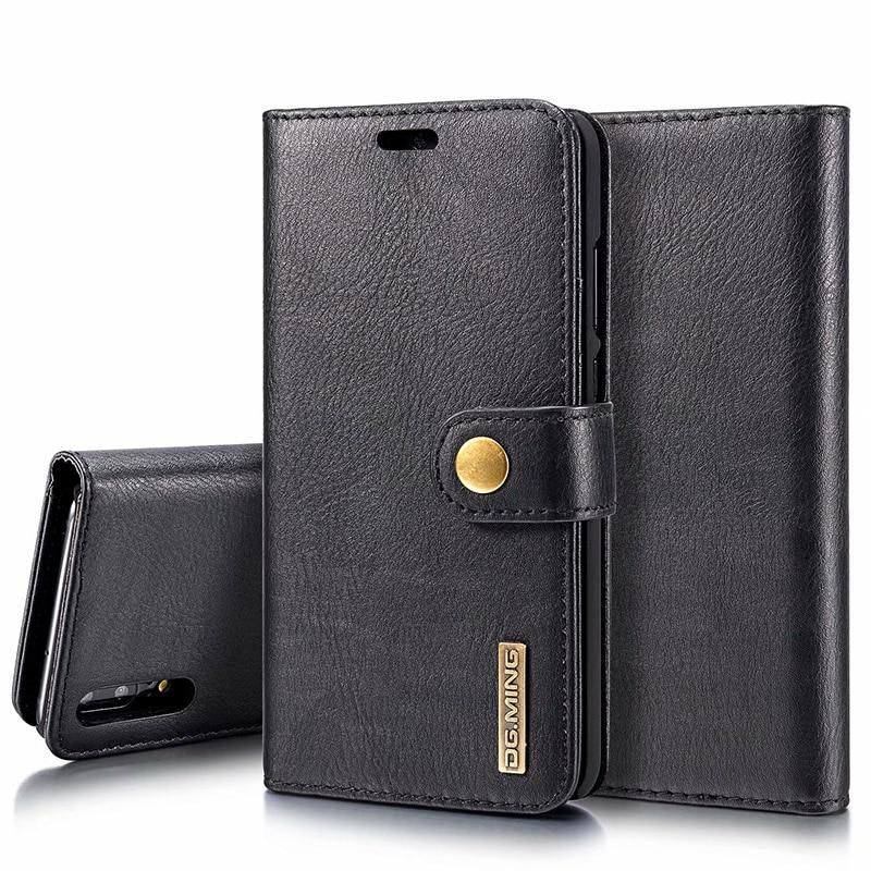 Роскошный кожаный бумажник флип чехол для huawei P20 P20 Pro P20 Lite P9 P10 плюс P8 Lite 2017 слотов для карт съемная Магнитная крышка