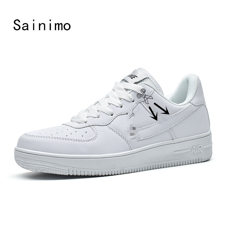 Shoes Men's Casual Shoes Fashion Classic Air Force Skateboarding Shoes Sneakers Men Shoes Casual Shoes Men Pu/net Chaussure Homme Zapatos De Hombre Buty Excellent Quality