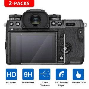 Image 1 - 2Pcs Gehärtetem Glas Screen Protector für Fujifilm X T1 X T2 X T3 X H1 X T100 X T20 X T10 XF10 X E3 X70 X Pro2 X Pro1 x100T X100F