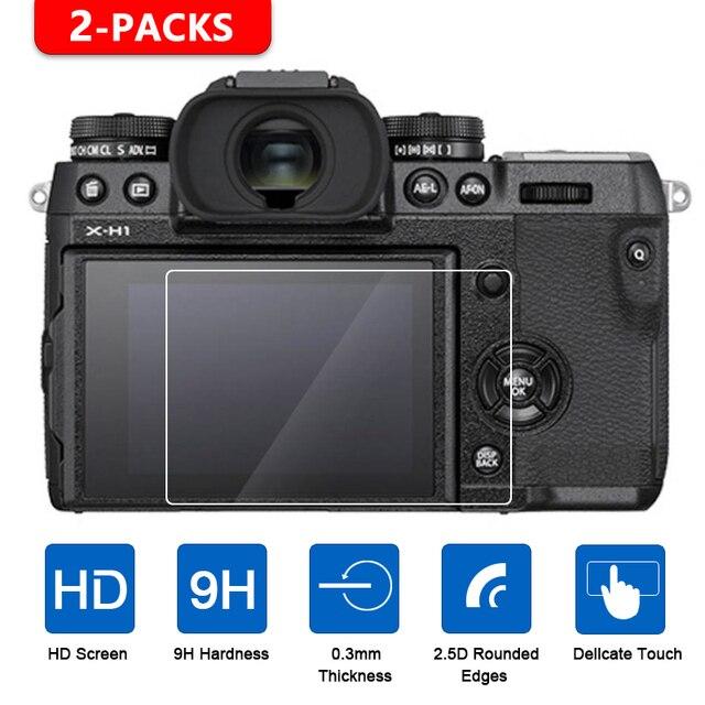 2Pcs Gehärtetem Glas Screen Protector für Fujifilm X T1 X T2 X T3 X H1 X T100 X T20 X T10 XF10 X E3 X70 X Pro2 X Pro1 x100T X100F