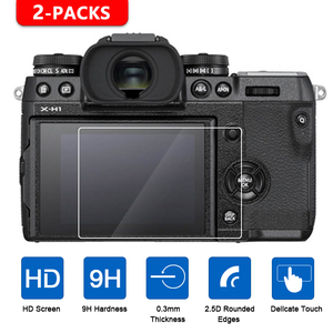 Image 1 - 2Pcs Tempered Glass Screen Protector for Fujifilm X T1 X T2 X T3 X H1 X T100 X T20 X T10 XF10 X E3 X70 X Pro2 X Pro1 X100T X100F