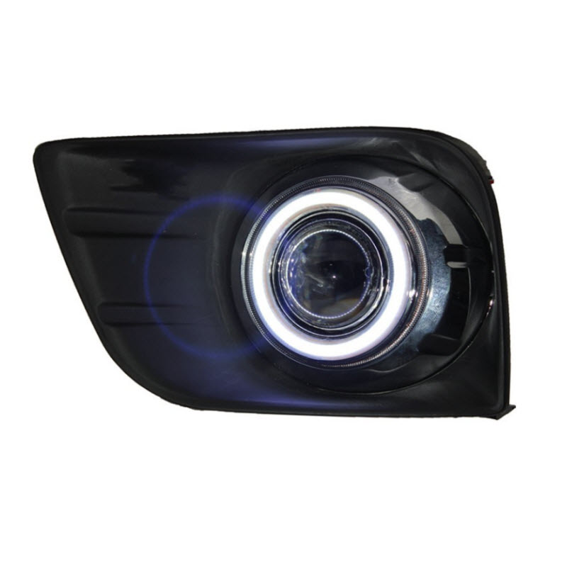 eeMrke üçün Toyota Land Cruiser Prado 4000 / LC150 FJ150 LED Angel - Avtomobil işıqları - Fotoqrafiya 2