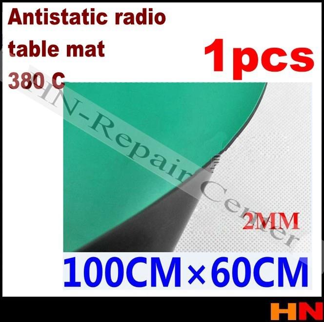 1pcs Antistatic radio pad Esd table mat rubber rubber mat high temperature 380 degrees 1 m