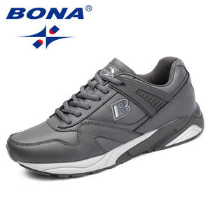 Image 3 - BONA New Calssice Style Men Running Shoes Lace Up Men Athletic Shoes Outdoor Jogging Sneakers Shoes Comfortable Free Shipping