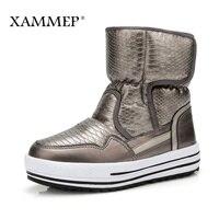 XAMMEP Women S Winter Shoes Plus Big Size Brand Women Shoes Plush And Wool High Quality