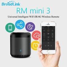 Оригинальный Broadlink RM Mini3 Универсальный Интеллектуальный WIFI/ИК/4 г беспроводной пульт дистанционного управления через IOS Android умный дом Автоматизация