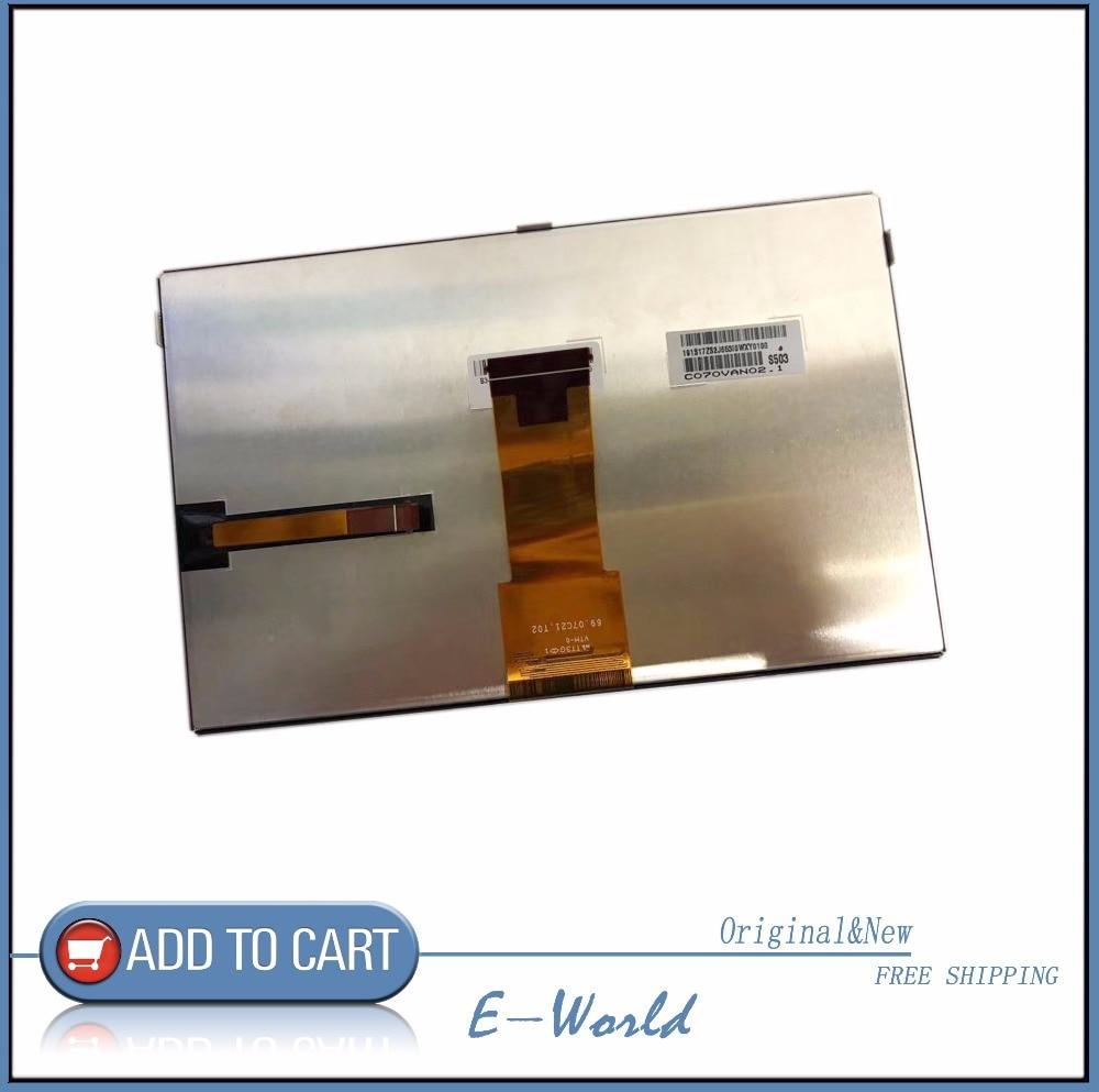 Original 7inch LCD screen C070VAN02.1 C070VAN02 free shipping free shipping original 7 inch lcd screen cable number tkr7030b a 30ppin width 105cm 165cm