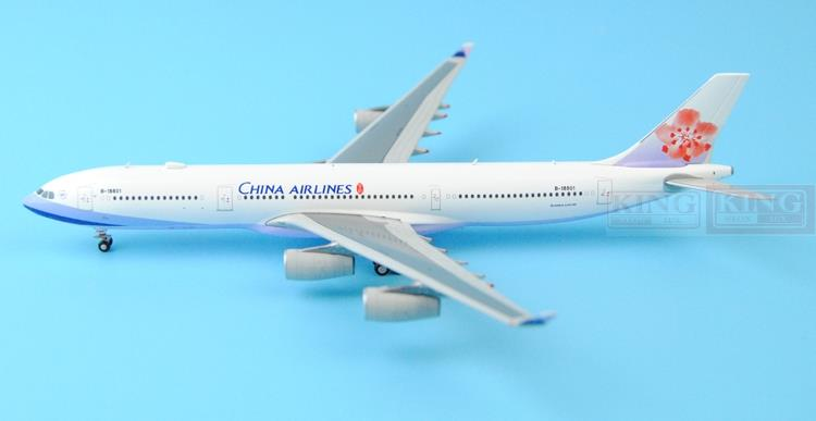 Spike: Wings XX4908 JC Taiwan China Aviation B-18801 1:400 A340-300 commercial jetliners plane model hobby special offer wings xx4232 jc korean air hl7630 1 400 b747 8i commercial jetliners plane model hobby