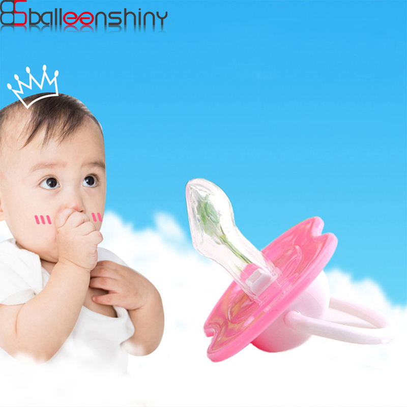 BalleenShiny Soft Baby Pacifier Toys Lips Dummy Pacifiers Infant Nipples Teether Soothers Pacifier Baby Dental Care