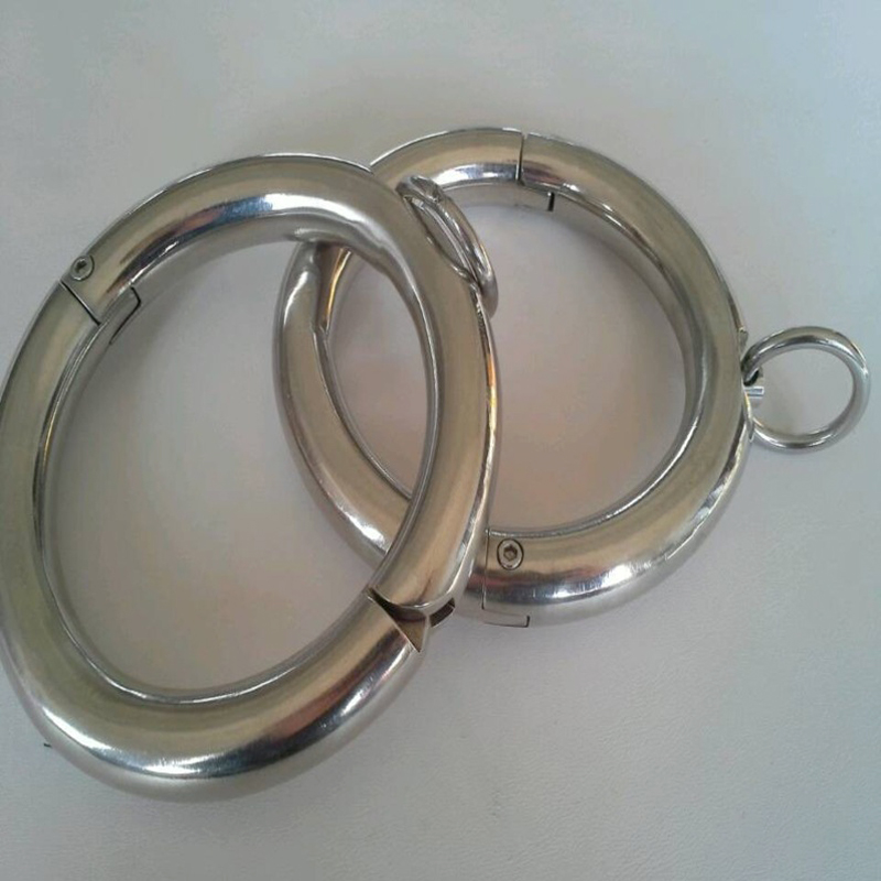 metal stainless steel leg irons ankle cuffs bdsm fetish bondage restraints legcuffs slave shackles sex products for adults metal leather bondage harness leg irons ankle cuffs adult games bdsm fetish slave restraints sex toys shackles sex products