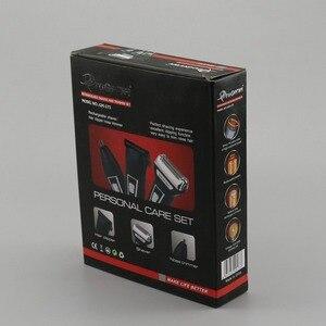 Image 5 - 3in1 Kit Elektrische Scheerapparaat Baard Scheren Machine Voor Mannen Oplaadbare Elektrische Scheerapparaat Facial Cleaning Scheerapparaat Folie Elektronische Body