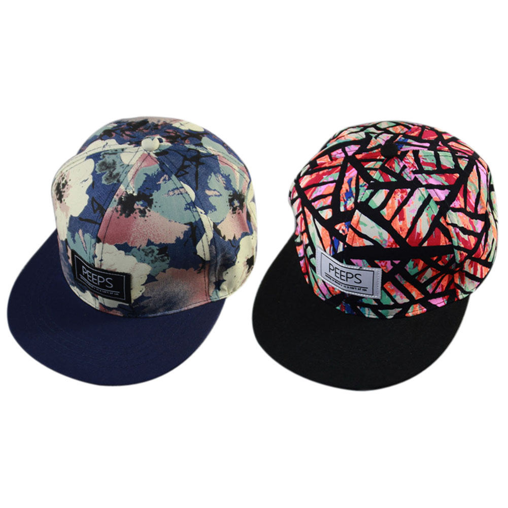 New Arrival Unisex Baseball Cap Snapback Adjustable Hat Hip Hop Cool Floral Handsome Men Women Autumn Spring Casual Baseball Cap