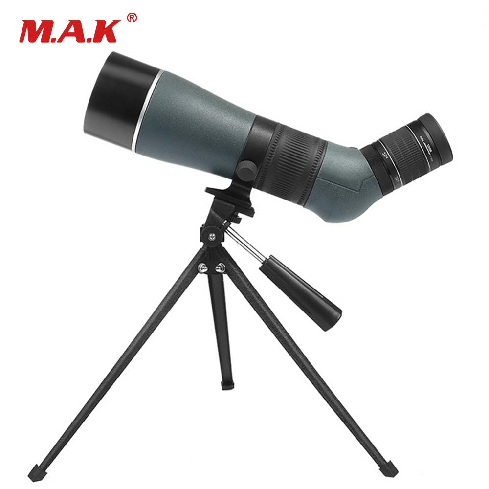 Spotting Scope 15-45X65 Long Range Monocular Telescope Big Angle Wideangle Zoom Low Light Level Night Vision Waterproof