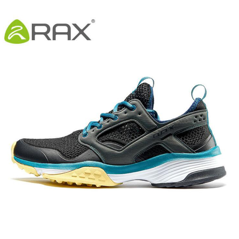 Rax Men Hiking Camping Shoes Man Professional Cushion Outdoor Sneakers Anti Skid Camping Hiking Walking Shoes Breathable Sneaker