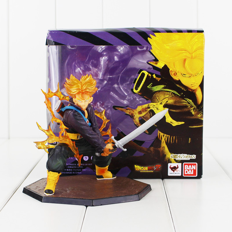 Dragon Ball Z Super Saiyan Trunks Dragonball PVC Action Figure Model Collection Toy dragon ball z black vegeta trunks pvc action figure collectible model toy super big size 44cm 40cm