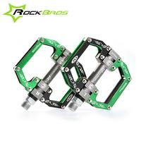 2016 ROCKBROS HOT Sale MTB Ultralight Bike Bicycle Pedals Mountain Road Bike Pedal Cycling Aluminum Alloy