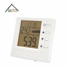 Comunicación RS485 Controlador Inteligente De Aire VOC CO2 interruptor de Relé de control del ventilador del Ventilador