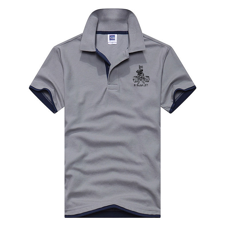 New 2018 Men's Brand   Polo   Shirt For Men Designer   Polos   Men Cotton Short Sleeve shirt Brands